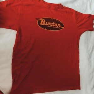 Red burton shirt